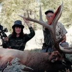Top Bowhunter Cindi Richardson Takes a 424-Inch Arizona Bull Elk