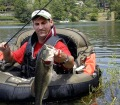How Dr. Robert Sheppard Fishes for Hard to Reach Bass with Belly Boats and Tubes - 3