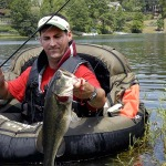 How Dr. Robert Sheppard Three-Wheels and Belly Boats for Beaver Pond Bass