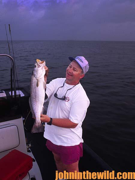 Mississippi's Captain Sonny Schindler - Bad Weather Is No Problem - We'll Still Catch Fish - 1