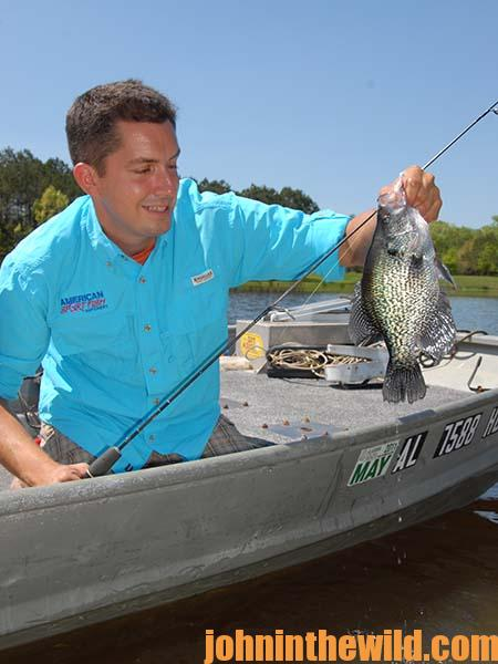 More Crappie Fishing Tips with John E. Phillips 02