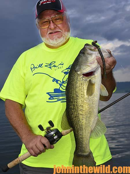 Zoom Magnum Worm for Bass at Lake Guntersville with Captain Phillip Criss - 1