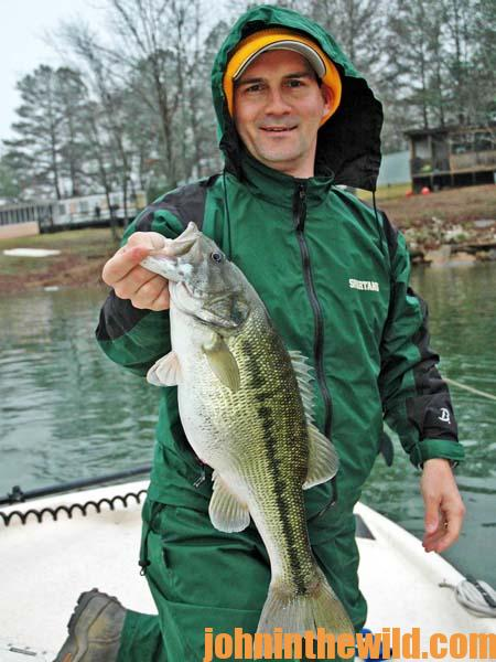 Catching East Coast Wintertime Bass with Davy Hite 2