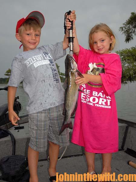 Children and Fishing for Catfish Go Together for a Great Outdoors Adventure 01