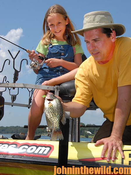 "Day 2-Family Crappie Fishing All Summer Long and During Christmas Break by John E. Phillips with Gifford ""Sonny"" Snipes 07"