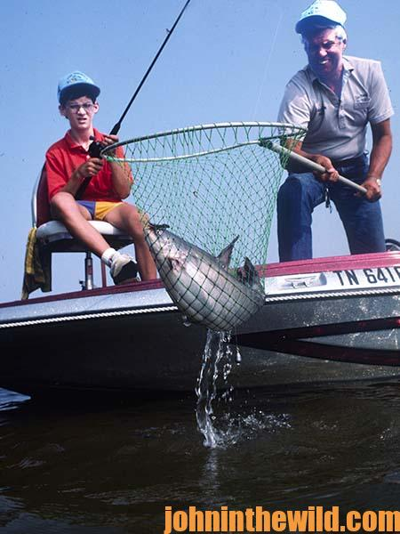 Getting in the Groove to Catch Wily Catfish with Outdoor Writer John E. Phillips 06