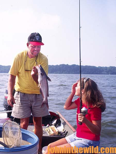 Getting in the Groove to Catch Wily Catfish with Outdoor Writer John E. Phillips 08