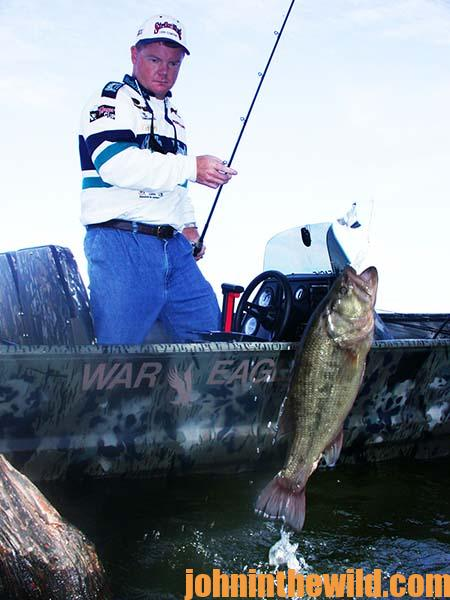 Use a Two Boat System for Hot Weather Tournament Bassing with Mark Rose 02
