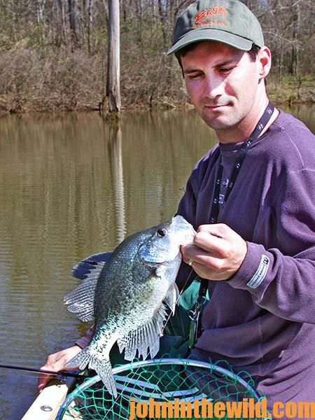 Building Stake Beds Where There's No Crappie or Cover and Why Fish Attractors Sometimes Don't Work with Guide Steve McCadams - 3