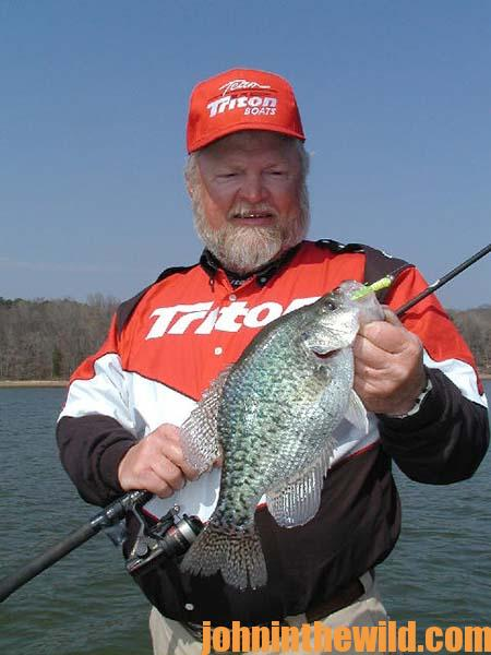 Catching Crappie Limits with Guide Steve McCadams - 1