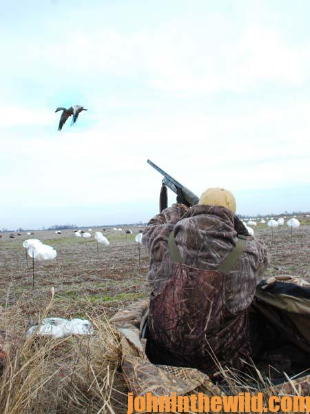 How John Gordon Sets-Up for Snow Geese During Mississippi's Conservation Season in February 3
