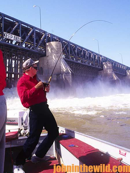 Pinpointing the Elusive Key to Catching Catfish in Swift Tailrace Waters Below Dams with Outdoor Writer John E. Phillips01