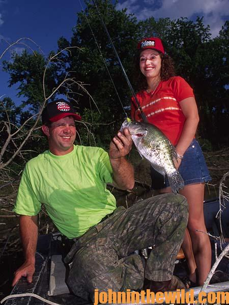 Stake Bed Problems and Solutions for Catching Crappie with Guide Steve McCadams - 3