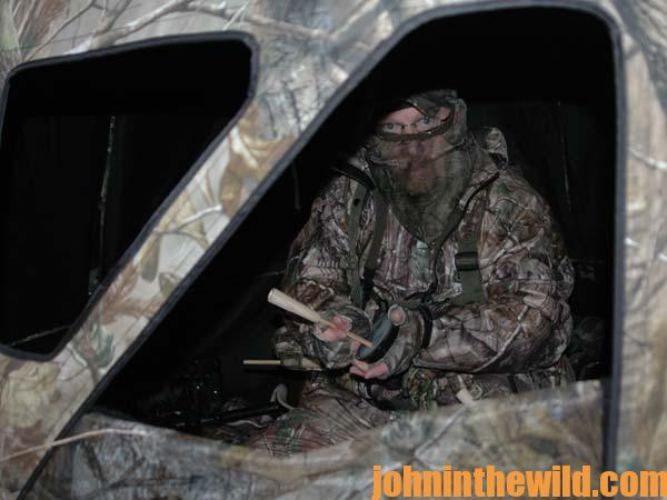 Walter Parrott on the Advantages of Hunting Turkeys from Blinds and Why to Take Turkeys in Fields with Your Bow 1