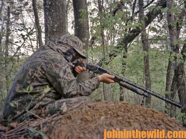 How to Set-Up on Gobblers across Water or Gobblers Strutting in the Field 16