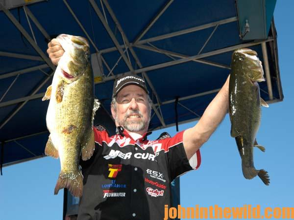 Professional bass fisherman ken cook on when to fish a for Professional bass fishing