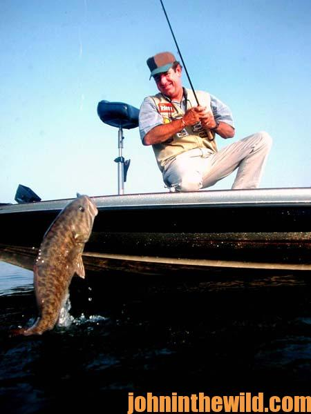 Taking Bass Down and Deep with Larry Nixon with Soft Plastics 2