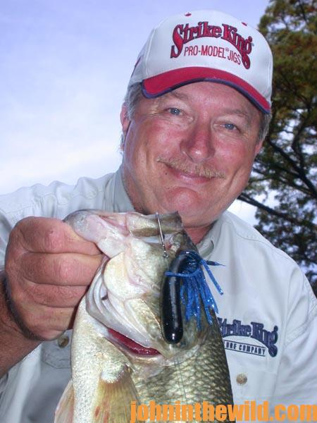 Tubes with Denny Brauer and the 6-inch Plastic Swimming Worm with Woo Daves for Catching Bass 3