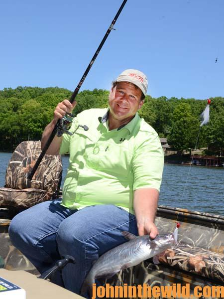 Fishing Jigs and Spoons for Catfish with Brian Barton in May and June 1