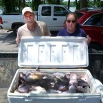Fishing Jigs and Spoons for Catfish with Brian Barton in May and June
