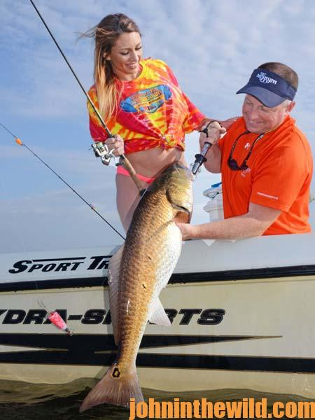 Catching Redfish and Sharks at Mississippi's Gulf Coast 1