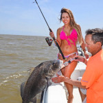 Fighting Big Black Drum in Mississippi