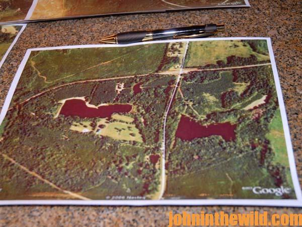 John In The Wild Page Of John E Phillips Outdoor - Hunting aerial maps