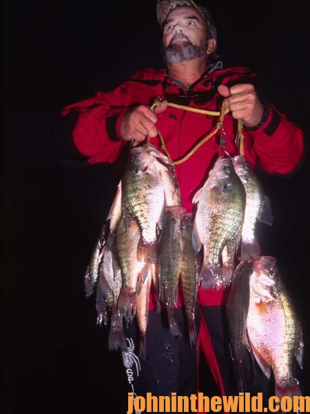 One of the Best Crappie Nighttime Fishing Trips Ever 4