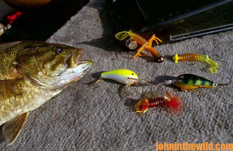 Smallmouth bass fishing lures images for Best time for bass fishing