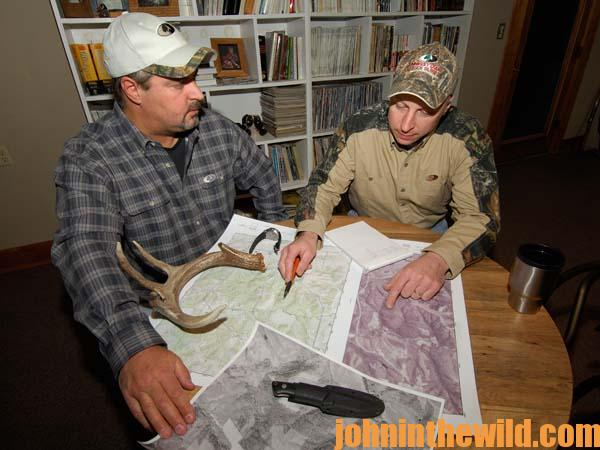 Using Aerial Photos and Topo Maps Now to Learn the Lay of the Land for Successful Deer Hunting 3