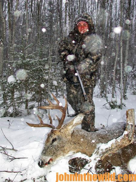 Avid Deer Hunter Chuck Jones Explains When to Hunt During Bad Weather and Why to Drive Deer in Bad Weather16