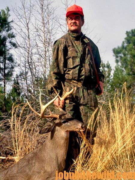 Deer Hunter Chuck Jones tells us Why He Hunts in Cedar Thickets in the Late Season12