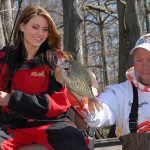 Fish Concrete for February Crappie