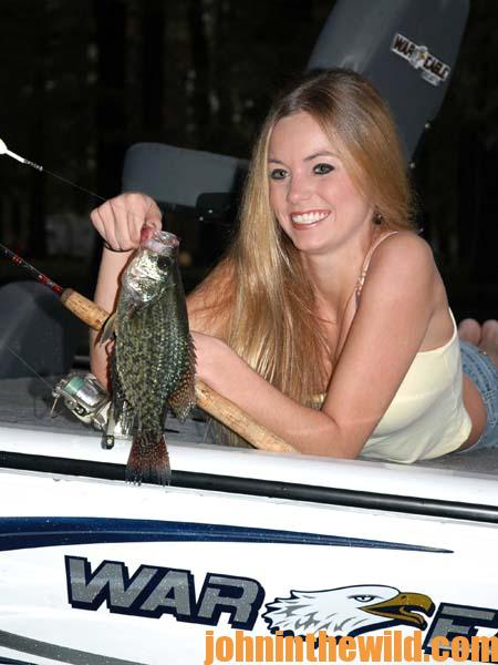 Fishing for Summertime Crappie 2