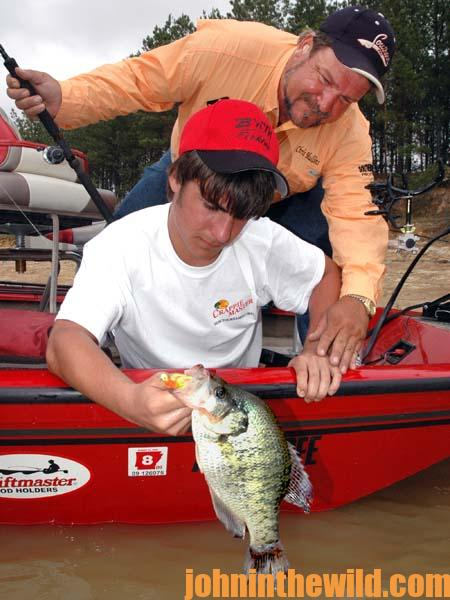 Fishing for Summertime Crappie 3