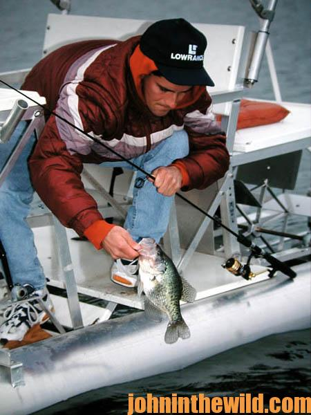 How to Catch Concrete Crappie in February19