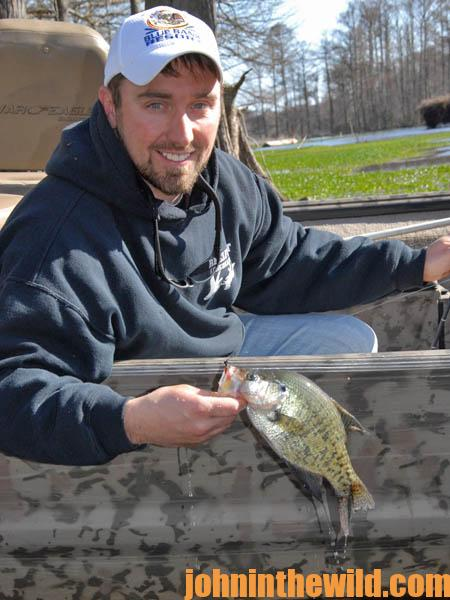 Locate the Thermocline to Catch More February Crappie05
