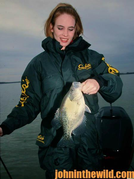 Read the Weather to Catch more February Crappie04