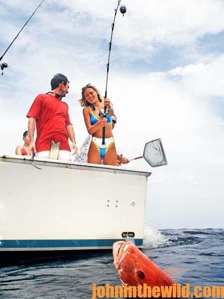 Reef Fishing for Saltwater Fish on the One-Thirds 2