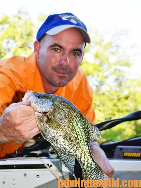 Understanding pH Breaklines and Thermoclines to Catch Summer Crappie with Ken Cook 2