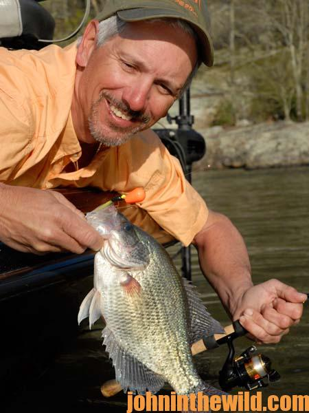 Using Some of Ken Cook's Favorite Crappie Tactics 2