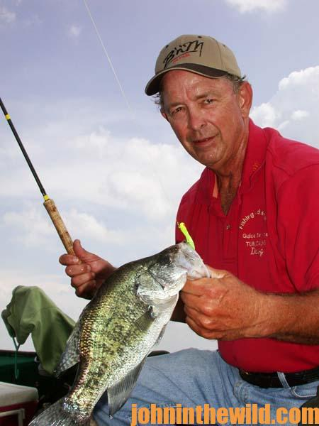 Fish from the bank duck hunt crappie and fish for big for How to fish for crappie from the bank