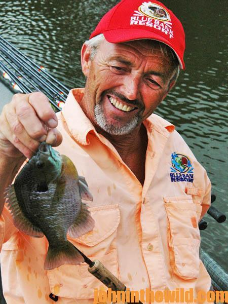 A Reelfoot Lake Summertime Party Where Bluegills Show Up with Jackie Wayne VanCleave09