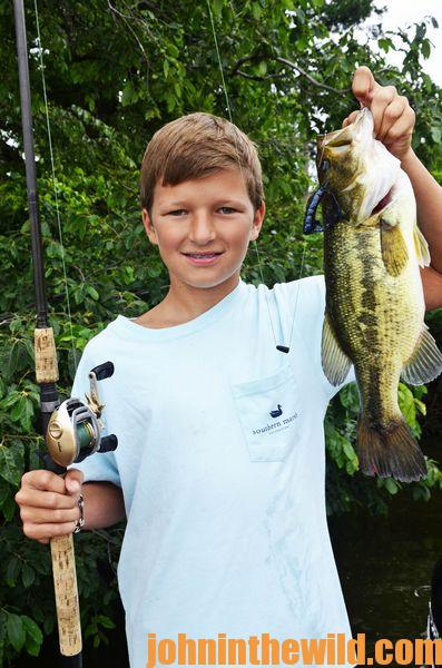 Bass Fishing with Grandson Conner at Blue Bank Resort with Outdoor Writer John E. Phillips14