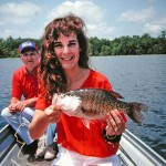 Catching Big Invisible Crappie