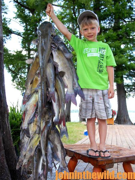 Don't Buy Catfish for a Summer Fish Fry – Catch Them with Jackie Wayne VanCleave08