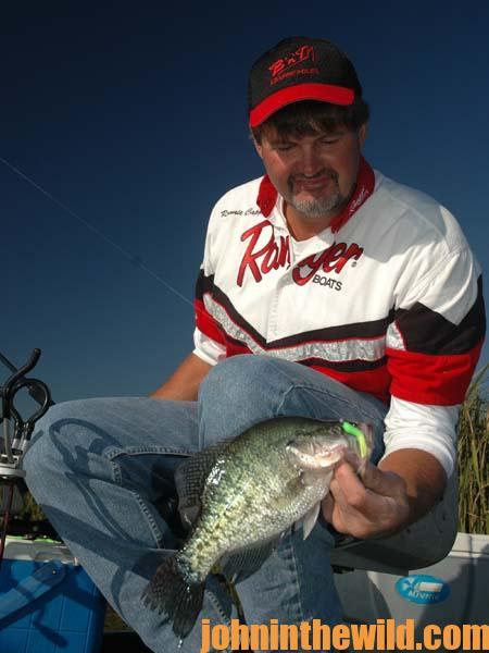 How to Catch Summer Crappie with Ronnie Capps 2