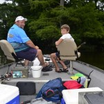 Look For Bubbles All Summer to Catch Bluegills at Blue Bank Resort