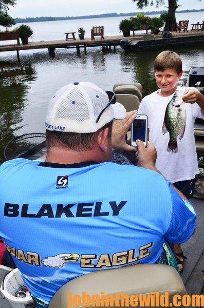 Look For Bubbles All Summer to Catch Bluegills at Blue Bank Resort04