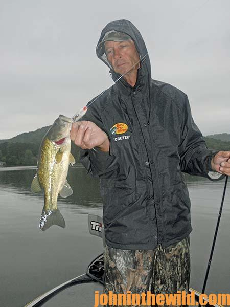 More Tactics from Rick Clunn on How to Catch Bass in Falling Water16